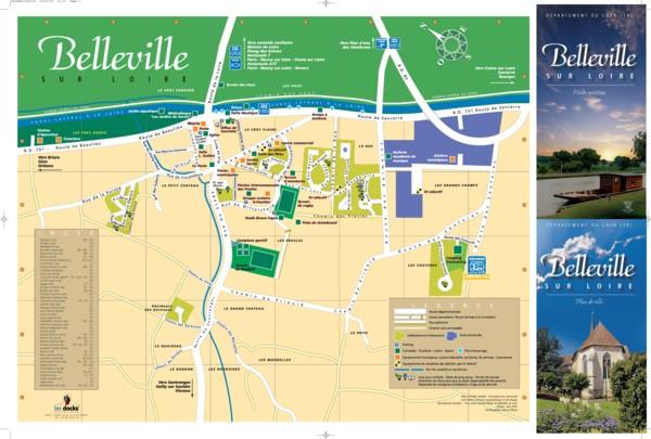 Plan de belleville sur loire for Belleville sur loire piscine
